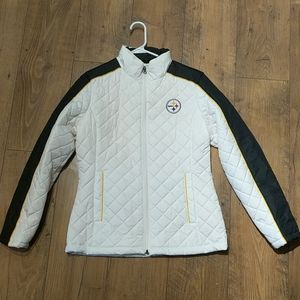 Woman's Pittsburgh Steelers lightweight jacket